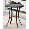 Barcelona Round Bistro Table - Chocolate Wicker - INTC-4203-RD-CH