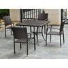 Barcelona Square Outdoor Dining Table - Wicker - INTC-4206-SQ