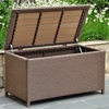 Barcelona Outdoor Trunk / Coffee Table - Antique Brown Wicker - INTC-4220-ABN