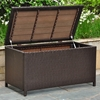 Barcelona Outdoor Trunk / Coffee Table - Chocolate Wicker - INTC-4220-CH