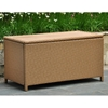 Barcelona Outdoor Trunk / Coffee Table - Honey Wicker - INTC-4220-HY