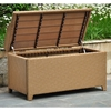 Barcelona Outdoor Storage Trunk / Bench - Honey Wicker - INTC-4221-HY