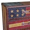 Old Glory Chest - 3 Drawers, Strap Handles - INTC-46B-10B377A