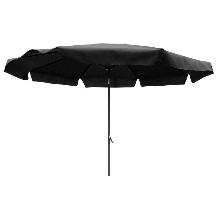 8 Ft Aluminum Pole Patio Umbrella With Tilt Crank And