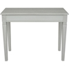 Ashbury Arte Writing Desk - Rectangular, Antique Gray - INTC-PS-ARE-02-AG