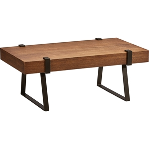 Hamburg Coffee Table - Canyon Oak Top, Rectangular