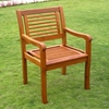 Royal Tahiti Bar Harbor Wooden Armchair - Slatted (Set of 2) - INTC-TT-1B-051-2-CH