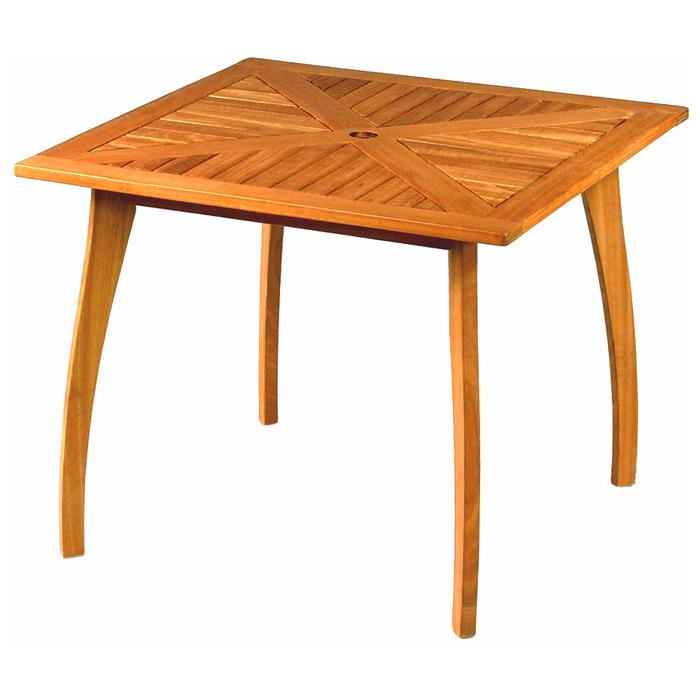 Royal Tahiti 36 Inch Balau Wooden Patio Table Dcg Stores