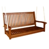 Royal Tahiti Wooden Straight Back Patio Swing - INTC-TT-SW-007