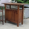 Marvelle Wooden Adirondack Patio Bar Table - INTC-VF-4107