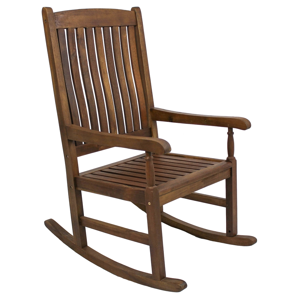 Tessa Wooden Patio Rocker Chair Dcg Stores