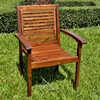 Hartwell Outdoor Wooden Armchair - INTC-VF-4203