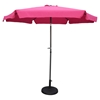 St Kitts 9-Foot Aluminum Patio Umbrella with Crank / Tilt - Bery Berry