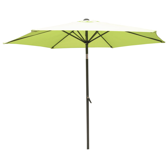 8 Ft.Aluminum Pole Tilt Crank Patio Umbrella - INTC-YF-1104-25M