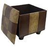 Rearden Two-Toned Square Ottoman with Lid - INTC-YWLF-2188-MX