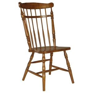Country Spindleback Chair in Soft Cherry
