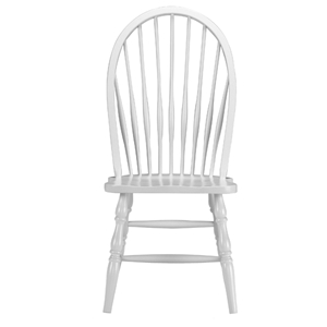 Tall Windsor Chair in Linen White