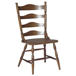 Ladderback Dining Chair in Cottage Oak