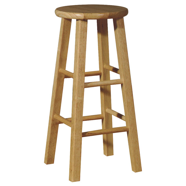 Wooden 30quot Round Top Bar Stool DCG Stores : 1s01 roundtop stool 430 from www.dcgstores.com size 600 x 600 jpeg 34kB