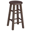 "Wooden 24"" Counter Height Round Top Stool - IC-1SXX-424"