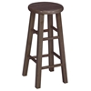 "Wooden 30"" Round Top Bar Stool - IC-1SXX-430"