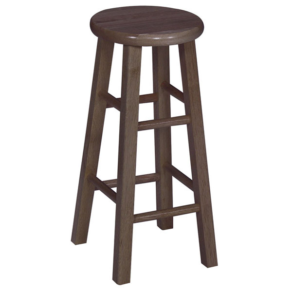 Wooden 30quot Round Top Bar Stool DCG Stores : 1s61 roundtop stool 430 from www.dcgstores.com size 600 x 600 jpeg 59kB