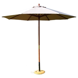 9 Outdoor Natural Umbrella