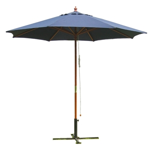 9 Outdoor Navy Blue Umbrella