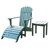 Hunter Green Solid Wood Adirondack Chair - IC-C-51901