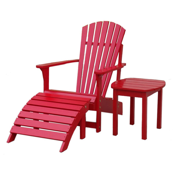 Red Adirondack Outdoor Chair Dcg Stores