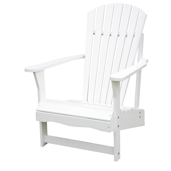 Outdoor Adirondack Chair in White - IC-C-51900