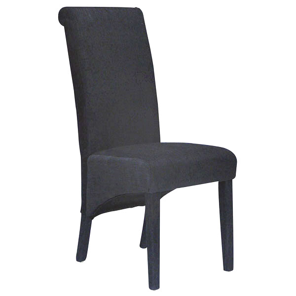 Parson Fabric Upholstered Dining Chair in Black DCG Stores : c 61011p black chair from www.dcgstores.com size 600 x 600 jpeg 39kB