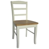 Solid Wood Madrid Ladderback Dining Chair - IC-CXX-2P