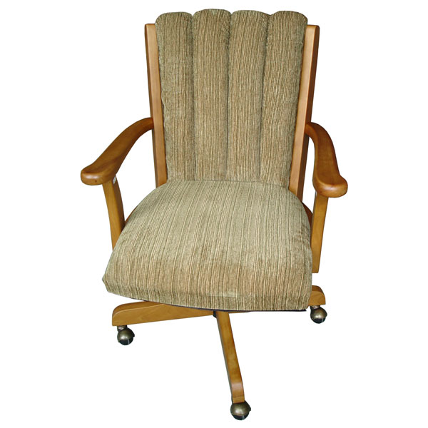 Upholstered swivel and tilt high arm chair dcg stores for Swivel accent chairs with arms
