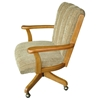 Upholstered Swivel and Tilt High Arm Chair - IC-C105-34N