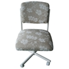 Upholstered Floral Pattern Side Chair - IC-C108-30ZP