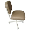 Upholstered Tan Vinyl Side Chair - IC-C108-30VP