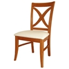 Salerno Dining Chair with Upholstered Seat - IC-CXX-14UPP