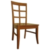 Bordeaux Dining Chair with Wood Seat - IC-CXX-15P