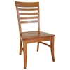 Roma Dining Chair with Wood Seat - IC-CXX-21P