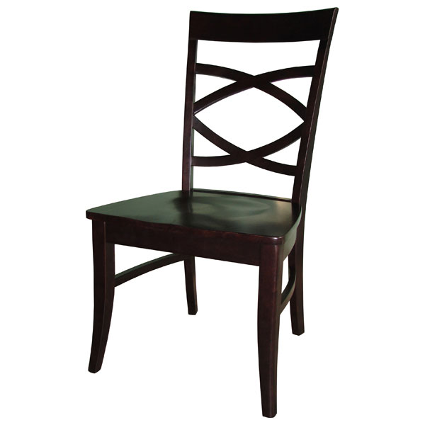 Milano Dining Chair with Wood Seat - IC-CXX-16P
