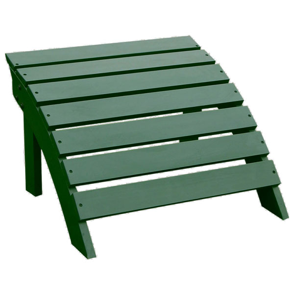 Outdoor Hunter Green Adirondack
