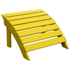 Yellow Adirondack Outdoor Footrest - IC-S-51903