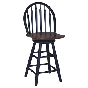 Arrowback Swivel Counter Stool