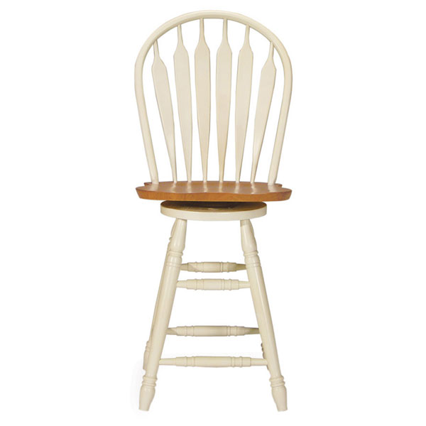 "Steambent 24"" Counter Stool in Arrowback - IC-SXX-2062"