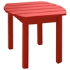 Red Outdoor Adirondack Side Table - IC-T-92248