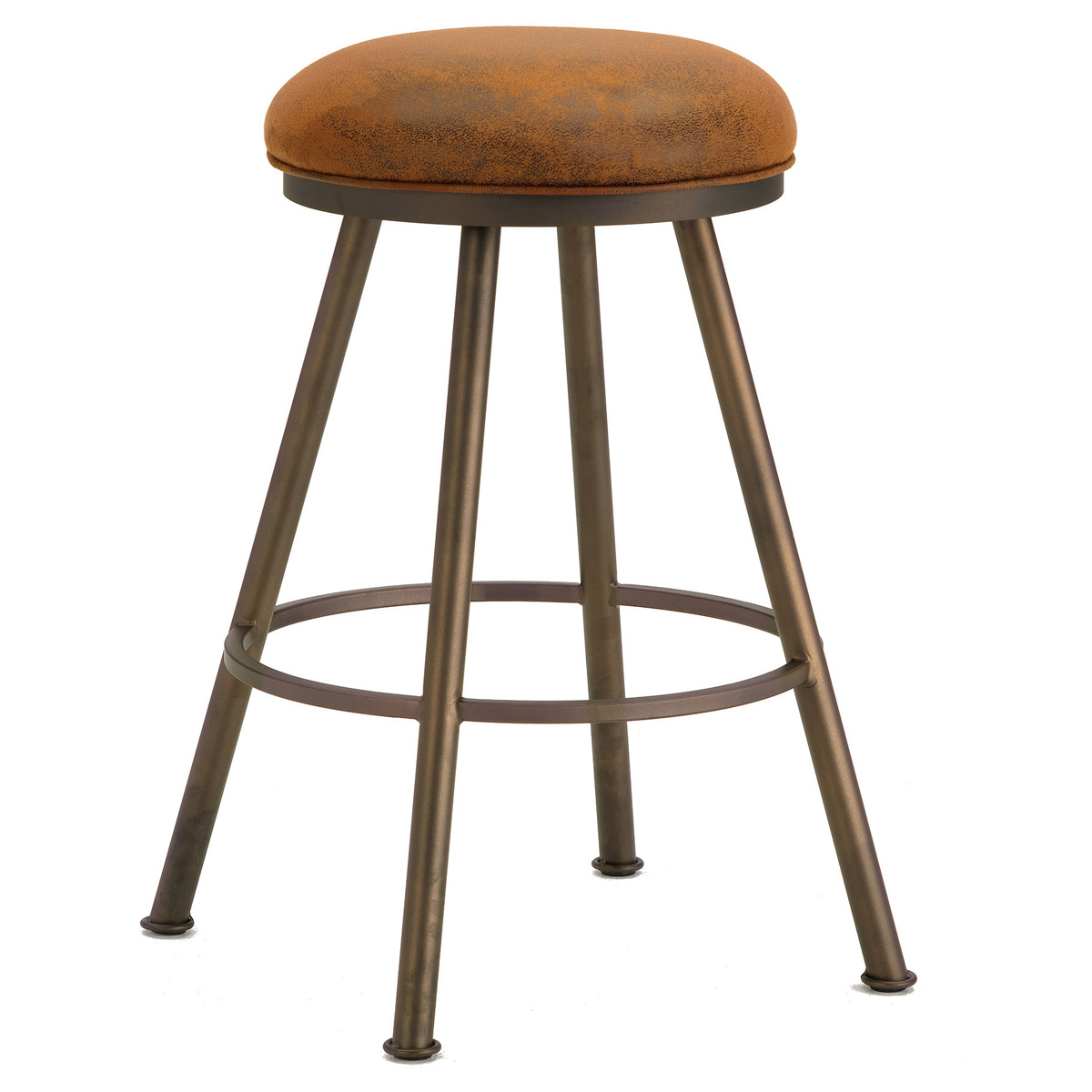 Alexander 26 Quot Backless Swivel Counter Stool Round Seat