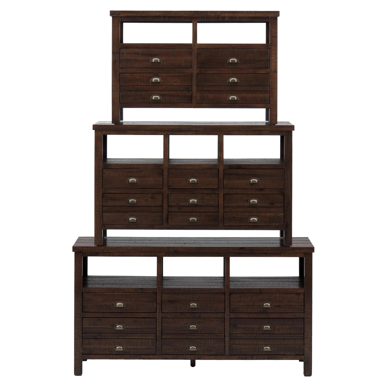 "Urban Lodge 42"" Media Unit - Brown - JOFR-087-42"