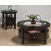Marlon Round Cocktail Table - Wenge - JOFR-091-2N