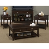 Merlot Cocktail Table - Casters, 2 Drawers - JOFR-1030-1
